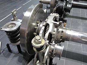 新幹線(300系)の車輪