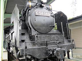 C57形蒸気機関車