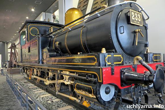230形233号蒸気機関車