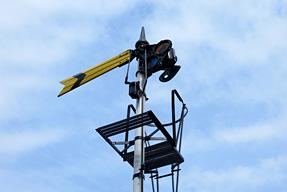腕木式遠方信号機