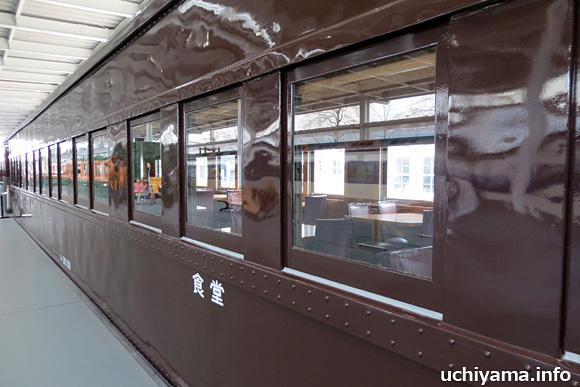 昭和初期の食堂車