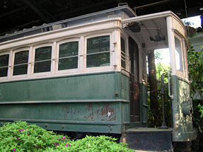 日本最古の電車