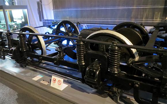 旧京都市電台車