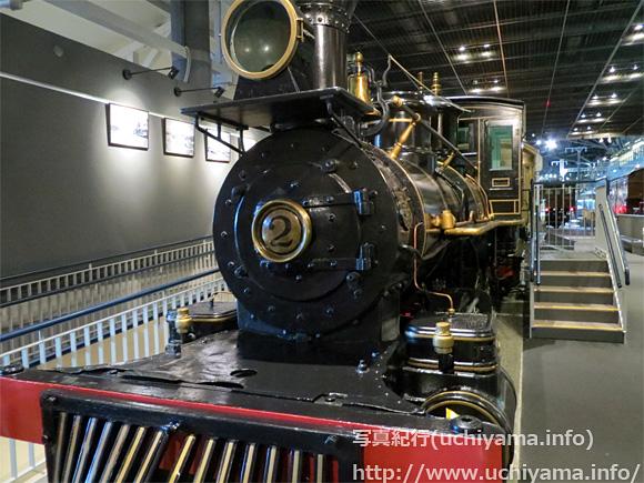 弁慶号機関車