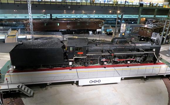 鉄道博物館・C57形蒸気機関車