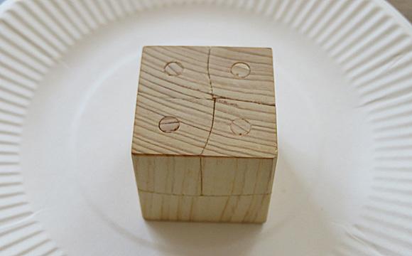 立体木目パズル